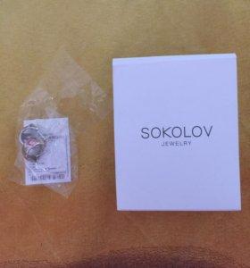 Серьги серебряные sokolov