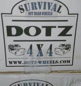 Штампованные диски DOTZ(новые)