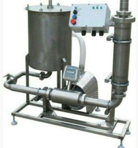 Оборудование для фильтрации и учета молока