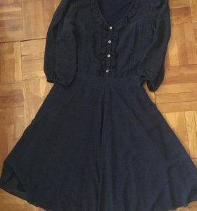 Платье шифоновое легкое