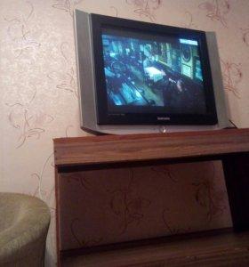 Телевизор самсунг с тумбой