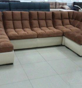 Мягкий и удобный диван для дома
