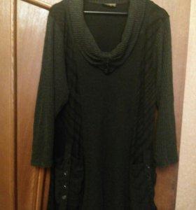 Туника -платье 62-64р