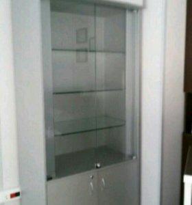Шкаф витринный универсальный