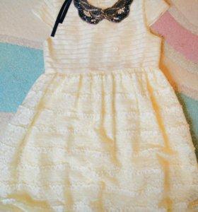 Платье на девочку, р. 128