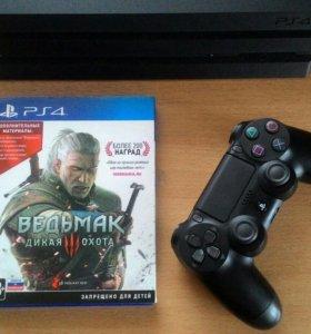 Диск для PS4 Ведьмак 3. Дикая охота