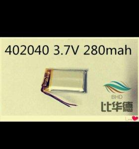 Батарейка аккумулятор 402040