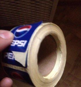 Наклейки Pepsi