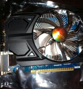 "Видеокарта ""Nvidia Geforce Gtx 750TI"""