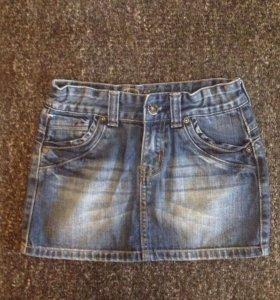 10 лет: Джинсовая юбка