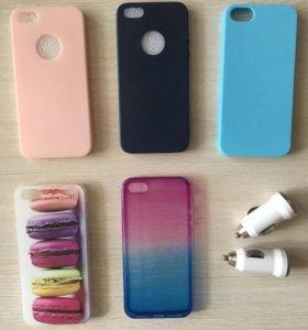 Задние панели на iPhone 5, 5s