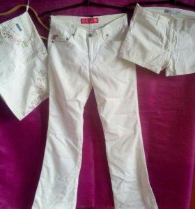 Брюки+юбка+шорты
