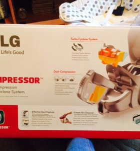 Пылесос lg kompressor
