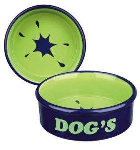 Керамическая миска для собак!