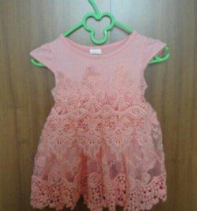 Платье + бриджи
