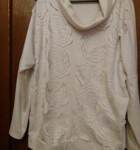 Блуза 62-64р