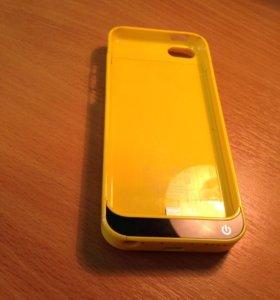 Чехол-зарядка iphone 5c