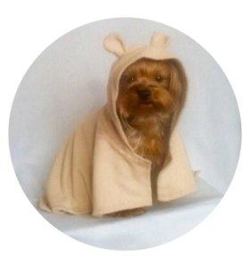 """Полотенце с капюшоном """"мишка"""""""