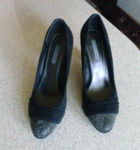 Замшевые нат. туфли