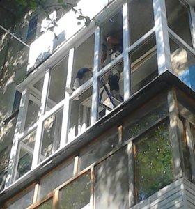 Пластиковые окна,балконы