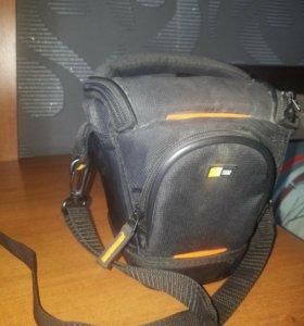 Сумка для фотоаппарата case logic slrc-200 black