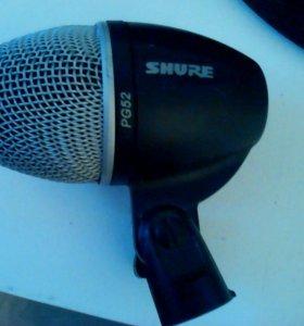 Микрофон shure PG 52