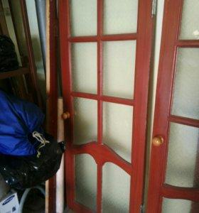 Двери межкомнатные остекленные
