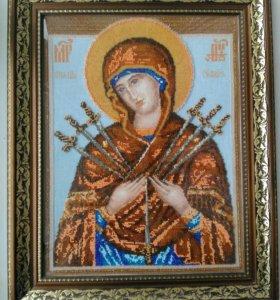 """Картина-икона """"Богородица"""""""