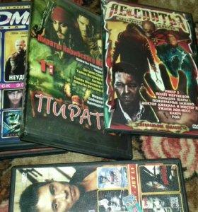 Двд диск с фильмами,играми,музыка