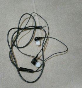 Гарнитура наушники с микрофоном