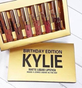 Kylie Birthday Edition матовые помады