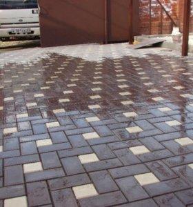 Укладка и продажа тротуарной плитки