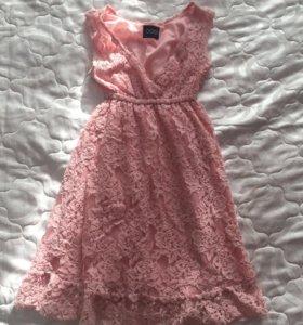 Платье кружевное летнее