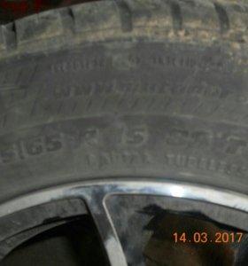 Литые диски. 4 летних колеса. Торг