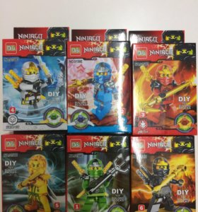 Фигурки Лего нинзяго