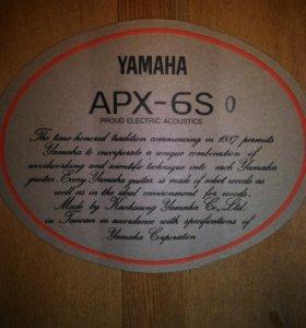Yamaha APX 6s
