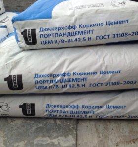 Цемент дресва песок 50кг и Доставка