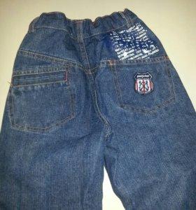 джинсы утепленные 122 р