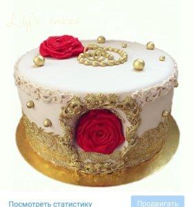 "торт ""Роза"""