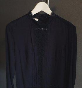 Синяя блузка Promod
