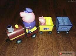 Паровозик свинка пеппа