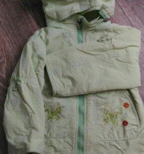 Куртка ветровка для деврчки