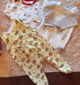 Одежда для мальчика 0-3 мес пакетом