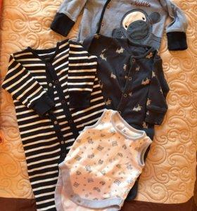 Одежда для мальчика Next 0-3 мес