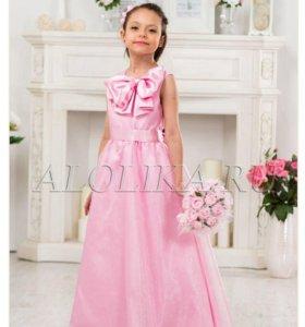 Нарядное платье 140 см