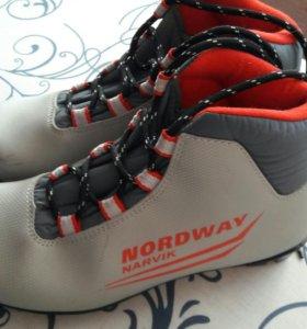 Ботинки лыжные 36 р-р