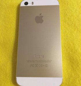 iPhone 5s 16gb золотой