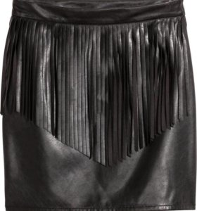 Кожаная юбка H&M