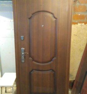 Двери входные металл