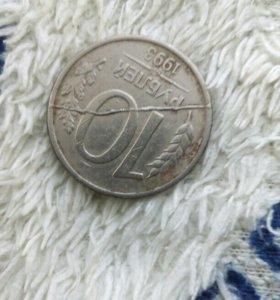 Брак монет раскол+поворот